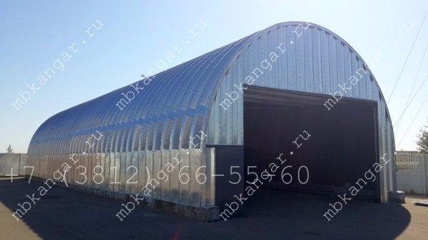 Производство и установка ангаров